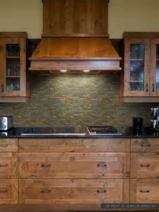 Slate Tile Kitchen Backsplash by Brown Gray Metal Slate Backsplash Tile Backsplash Com