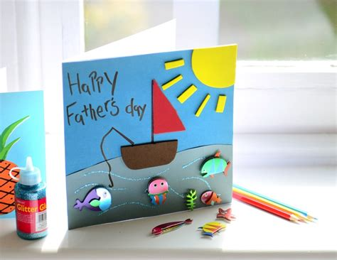 make a fathers day card fathers day cards crafts site about children