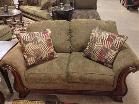 montgomery upholstery montgomery mocha loveseat at ashley furniture in