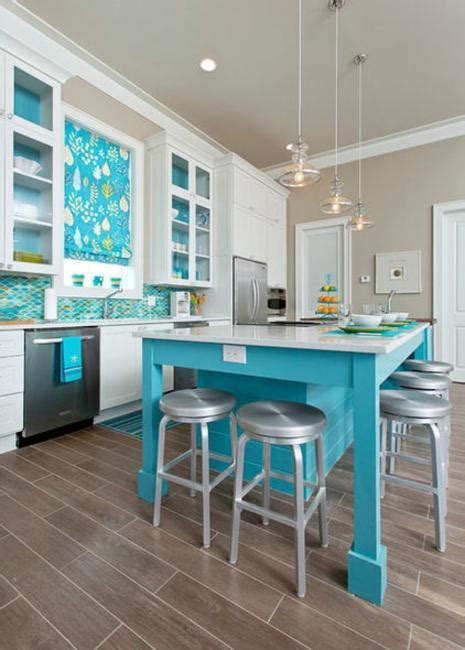 blue kitchen ideas how to add blue color to modern kitchen design and decorating