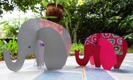 How To Make A Elephant Out Of Paper - 559 best images about diwali decor ideas on