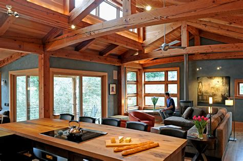 interior design custom timber frame homes