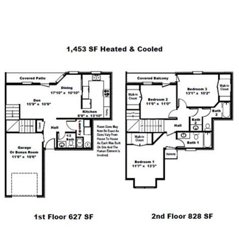 the garden homes of highland plantation plan 3j