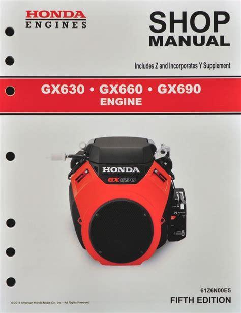 manual repair free 1999 honda civic engine control honda gx630 gx660 gx690 engine service repair shop manual ebay