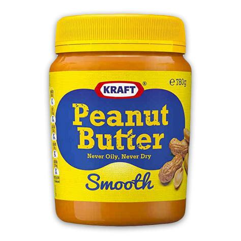 kraft light peanut butter ingredients kraft smooth peanut butter 780g the marulan general store