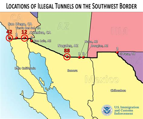 houston tunnel map interactive senate plan would let napolitano trigger citizenship for