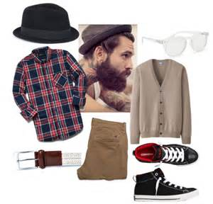 Men s hipster clothing combination ideas