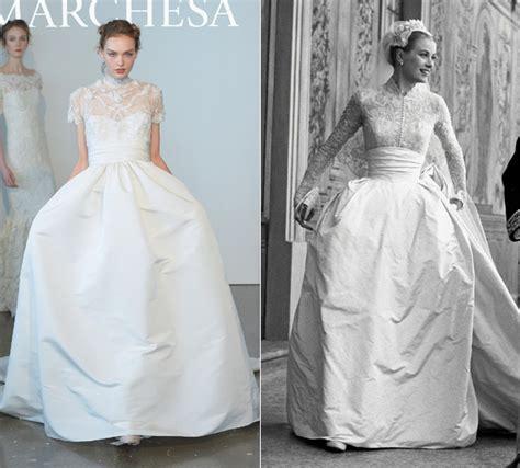 Grace Kelly's wedding dress inspires Marchesa's spring