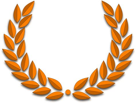 lingkaran emas laurel gambar vektor gratis  pixabay