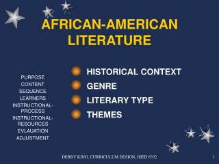 themes american literature ppt unit five assignments african literature powerpoint