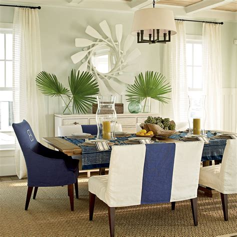 beach house home decor east beach dining room video coastal living