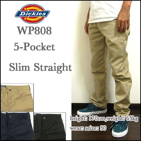 Celana Chino Panjang Pocket Dickies reason rakuten global market dickies dickies chino slim wp808 slim