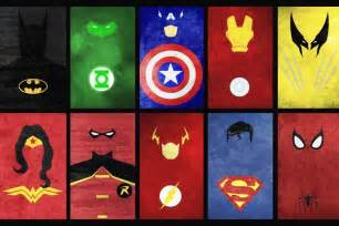 Marvel Superhero Wall Stickers superheroes signs comics print 36 x24 silk poster in wall