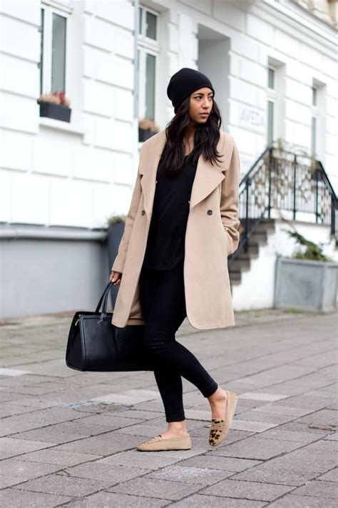 Zara Chino Premium Lightbrown black and camel this is how to style the look
