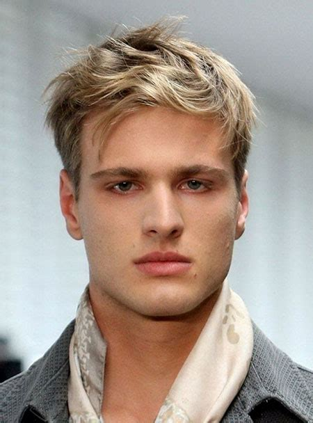 thin blonde hairstyles for men trendy haircut men mens hairstyles 2018