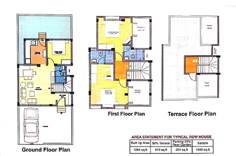 house designs floor plans india row house floor plans india home design home building