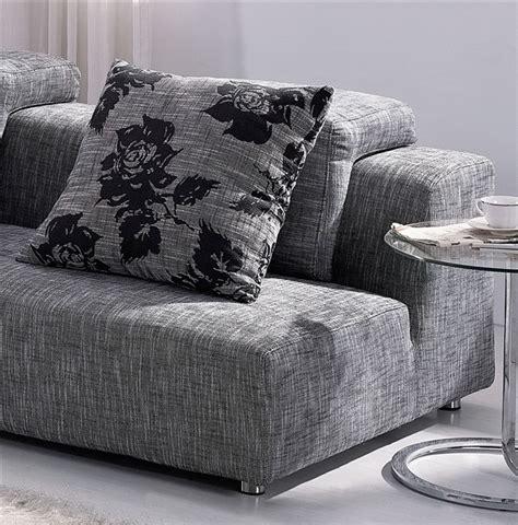 modern zebrano fabric sectional sofa modern zebrano fabric sectional sofa tos anm308 33 sp