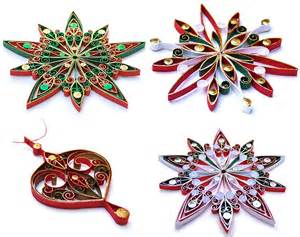 quilling decorations decorations quilling holliday decorations