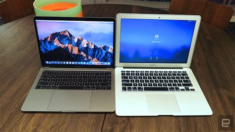 Mba Vs Mbp Programming by New Macbook Pro Has Better Keyboard Than 12 Inch Macbook
