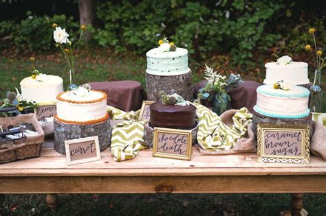 Backyard Wedding Cake Ideas by Rustic Vintage Backyard Wedding Of Emily Hearn Rustic