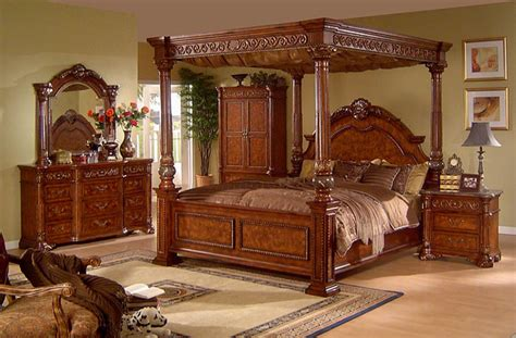 California King Canopy Bedroom Set california king canopy bedroom set photos and