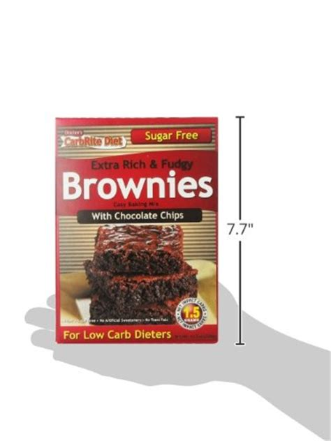 prosil tobacco brown doctor s carbrite diet chocolate chip brownie mix 11 5