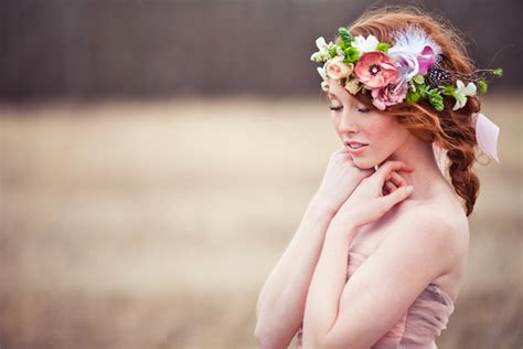 Diy Twig Wreath by Bohemian Brides Whimsical Flower Crowns Maureen Du