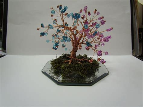 How To Make A Beaded Wire Tree Centerpiece Wire Tree Centerpiece