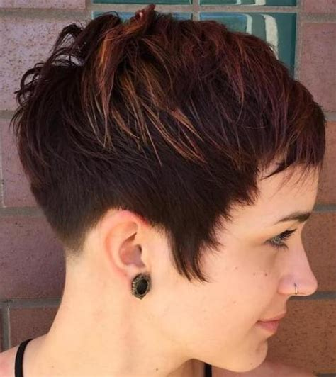 short pixie cut caramel 60 cute short pixie haircuts femininity and practicality