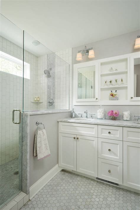 white gray bathroom cape cod cottage remodel home bunch interior design ideas