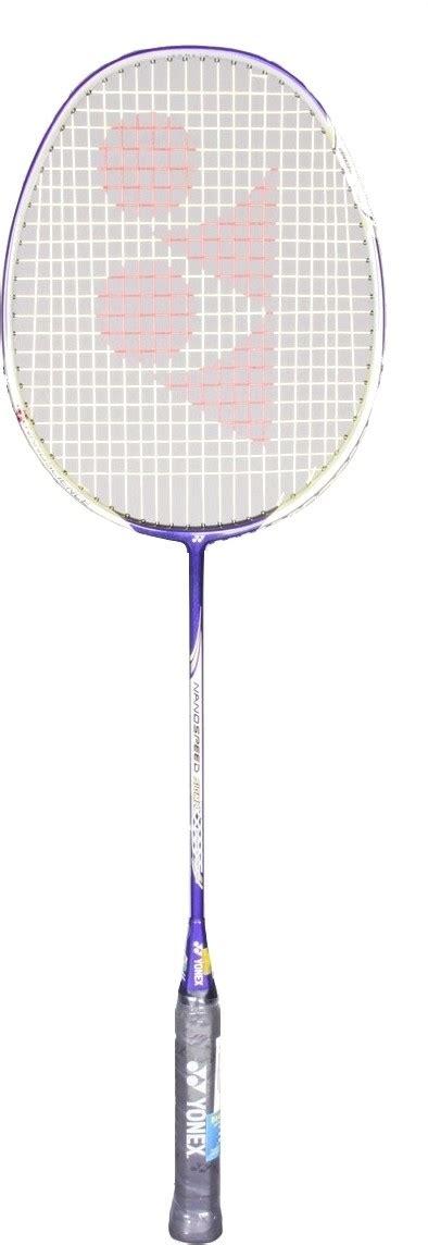 Yonex Nanospeed Sigma buy yonex nanospeed sigma g4 strung badminton racquet