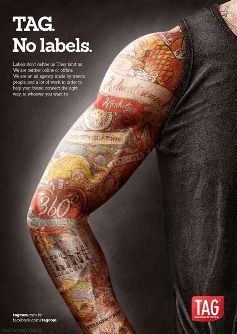 tattoo magazine designs creative ads 4