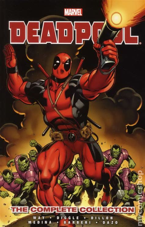 deadpool by daniel way deadpool tpb 2013 marvel the complete collection by daniel way comic books