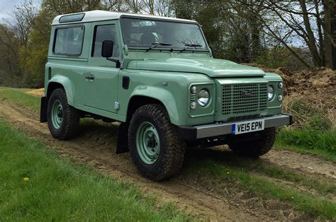 range rover defender 2016 2016 land rover defender 90 heritage review