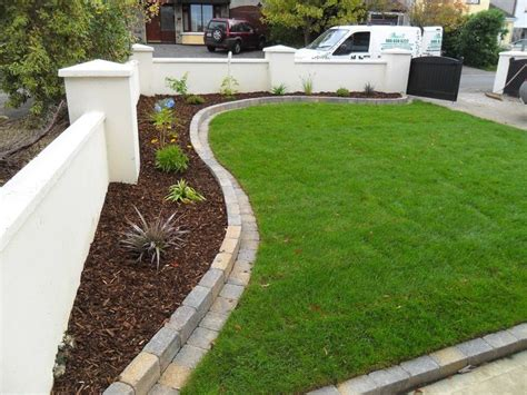mowing edge garden pinterest