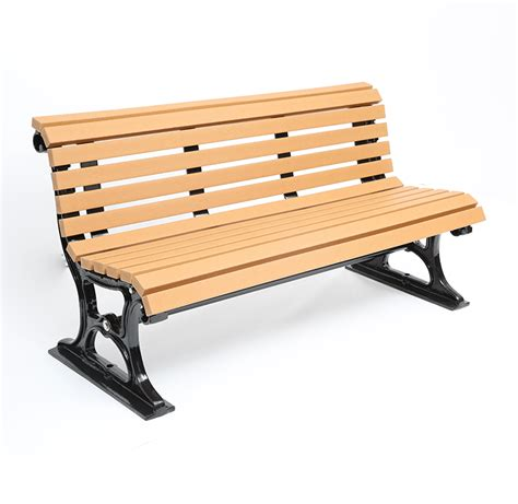 plastic bench outdoor plastic wood bench cab 823 canaan