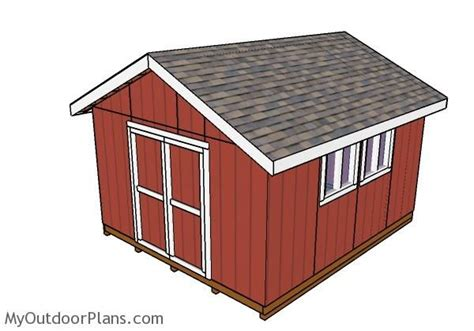 14x16 gambrel shed plans 14x16 barn shed plans 1000 images about building a garden shed on