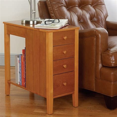 Thin Side Table Thin Side Table Shelby