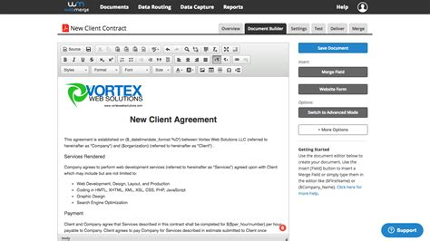 create new template in how to create effective document templates