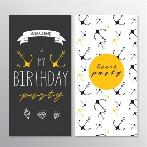 birthday card template freepik birthday card template design vector free