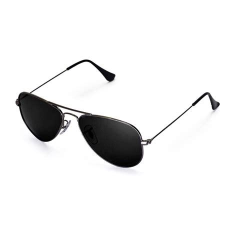 Original New Model Kacamata Aviator Polarized Sunglasses Black Frame new walleva polarized black lenses for ban aviator rb3044 small metal 52mm 639725109615 ebay