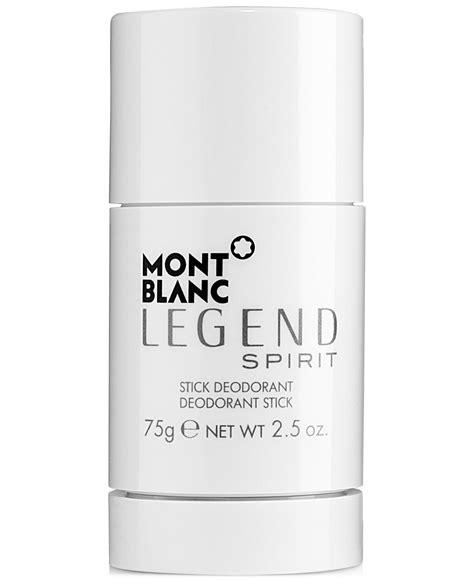Original Deodorant Stick Montblanc Legend mont blanc legend spirit cologne by mont blanc perfume