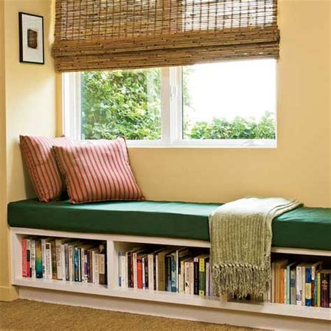 bookshelf seating bench living room reading corner designsinterior decorating