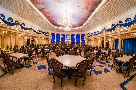 Be Our Guest Dining Rooms Disney World Secrets At The Be Our Guest Restaurant Make Do
