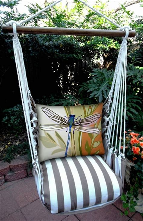 swing chocolate striped chocolate dragonfly hammock chair swing set only