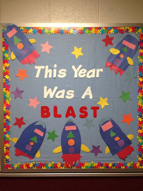 kindergarten themes for the school year end of school year bulletin board bulletin board