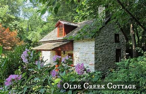 creek cottages a small cottage on a creek in pennsylvania