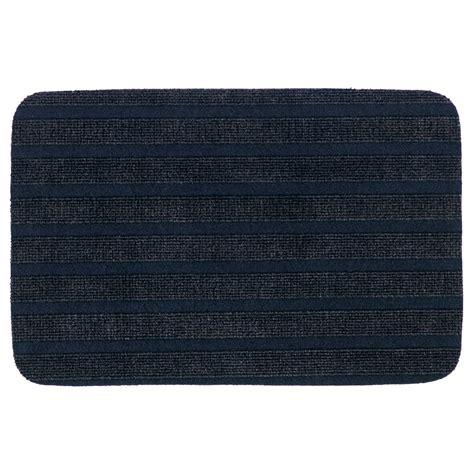 ikea mat borris door mat dark blue 38x57 cm ikea
