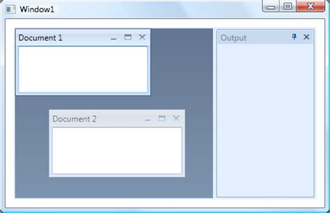 dock manager wpf layout control devexpress documentgroup mdistyle property wpf controls