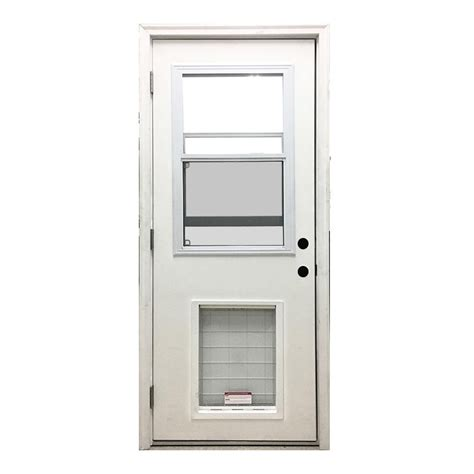 24 Exterior Door 24 X 80 Fiberglass Exterior Door Exterior Doors And Screen Doors